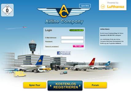 Airline Company Screenshot 0