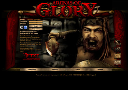 Arenas of Glory Screenshot 0