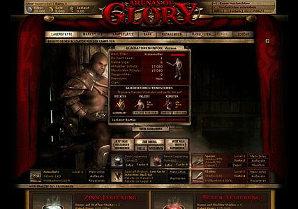 Arenas of Glory Screenshot 1