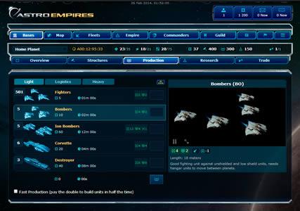 Astro Empires Screenshot 2