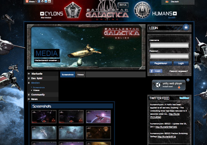 Battlestar Galactica Screenshot 0