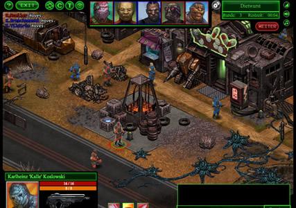Bionic Battle Mutants Screenshot 1