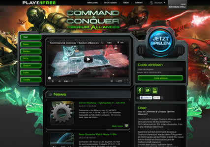 Command and Conquer Tiberium Alliances Screenshot 0
