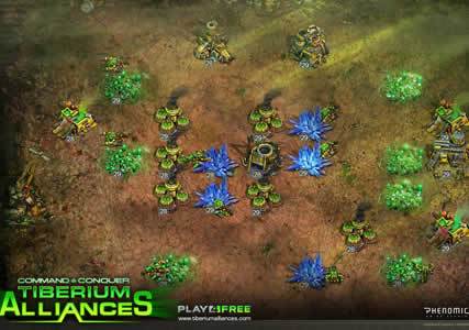 Command and Conquer Tiberium Alliances Screenshot 1