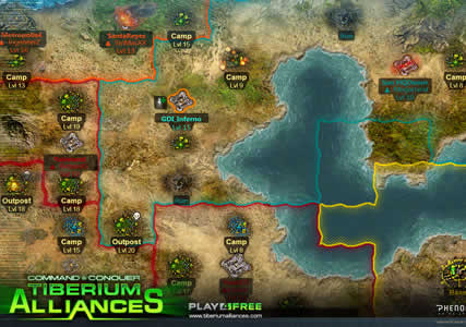 Command and Conquer Tiberium Alliances Screenshot 2