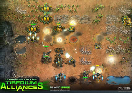 Command and Conquer Tiberium Alliances Screenshot 3