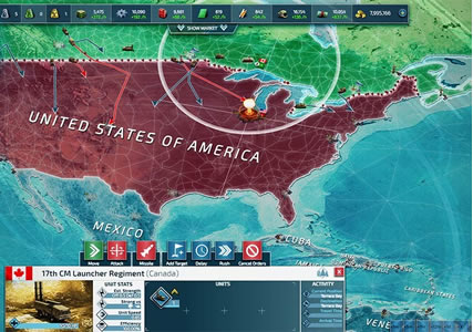 Conflict of Nations Screenshot 3