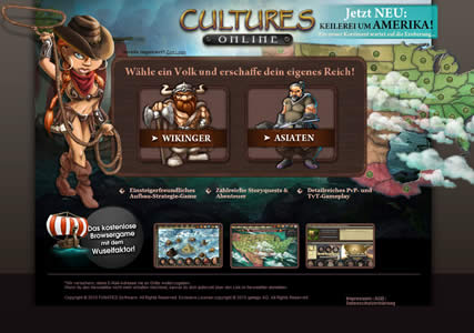 Cultures Online Screenshot 0