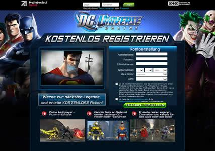 DC Universe Online Screenshot 0