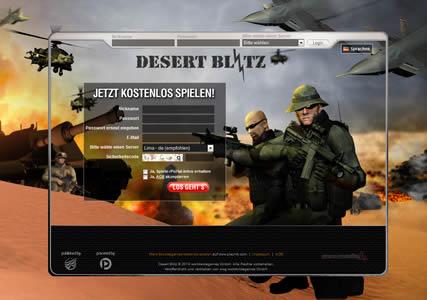 Desert Blitz Screenshot 0