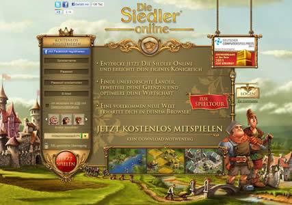 Die Siedler Online Screenshot 0