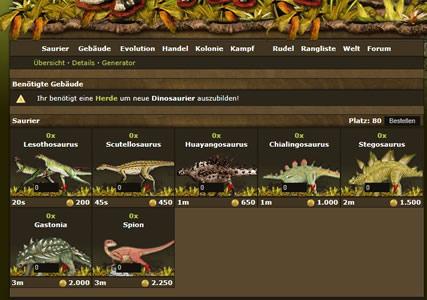 Dinoplanet Screenshot 3