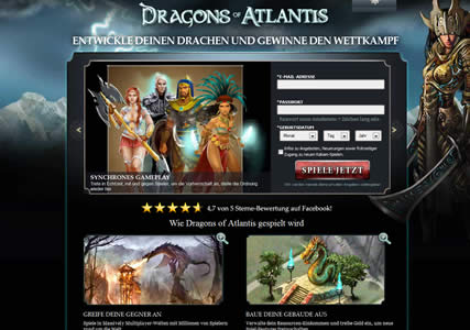 Dragons of Atlantis Screenshot 0