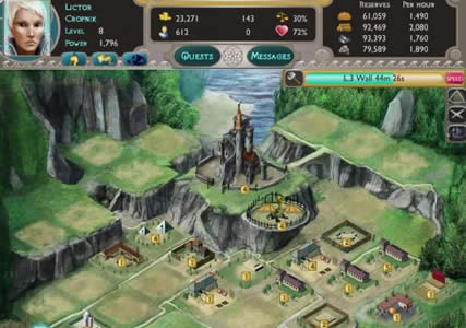 Dragons of Atlantis Screenshot 2