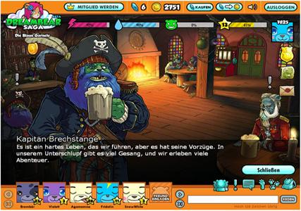 Dreambear Saga Screenshot 0