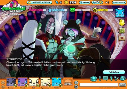 Dreambear Saga Screenshot 2