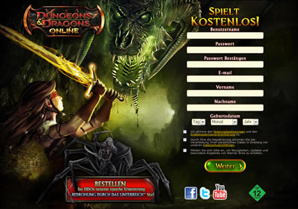 Dungeons and Dragons Online Screenshot 0