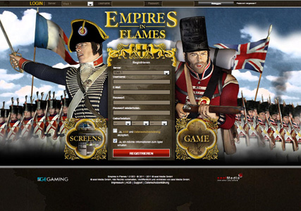 Empires in Flames Screenshot 0