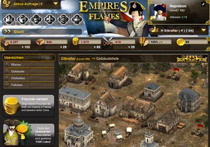 Empires in Flames Screenshot 1