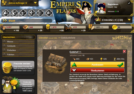 Empires in Flames Screenshot 2