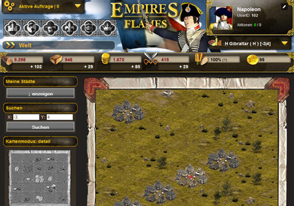 Empires in Flames Screenshot 3