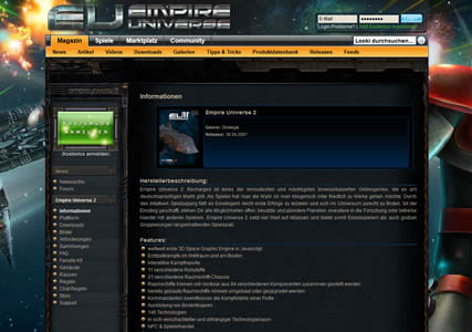 Empire Universe 2 Screenshot 0