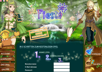Fiesta Online Screenshot 0