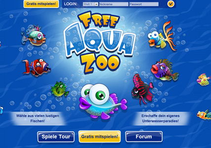 Free Aqua Zoo Screenshot 0