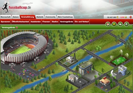 Fussballcup Screenshot 1