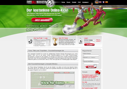Fussballmanager Screenshot 0