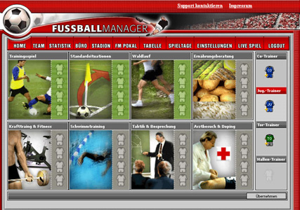 Fussballmanager Screenshot 3