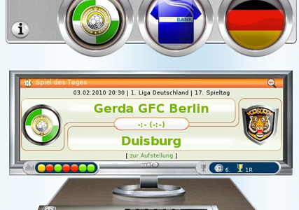 FussballManager Online Screenshot 3