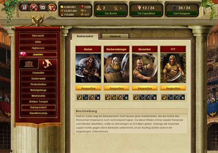 Gladiatus Screenshot 3
