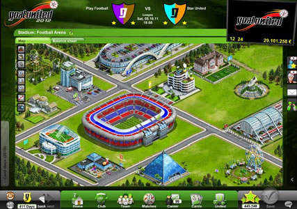 GoalUnited Screenshot 3