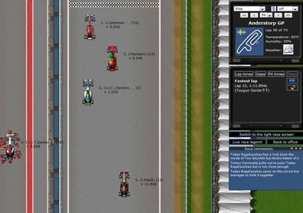 Grand Prix Racing Online Screenshot 2