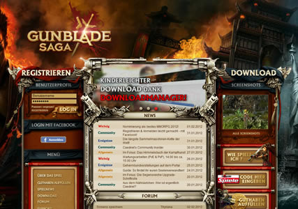Gunblade Saga Screenshot 0