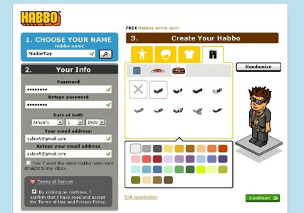 Habbo Hotel Screenshot 1