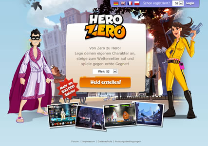Hero Zero Screenshot 0