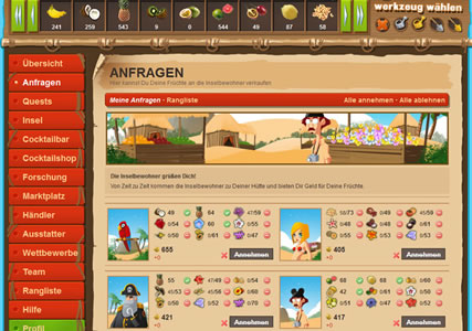 Inselcompany Screenshot 2