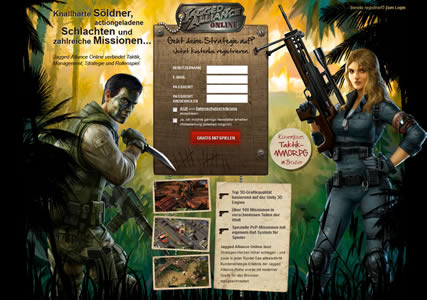 Jagged Alliance Online Screenshot 0