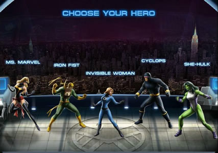 Marvel Avengers Alliance Screenshot 1