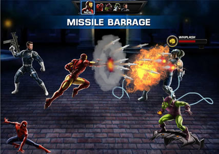 Marvel Avengers Alliance Screenshot 2