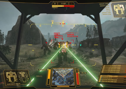 Mech Warrior Online Screenshot 1