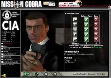 Mission Cobra Screenshot 1
