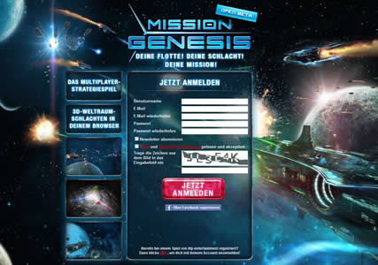 Mission Genesis Screenshot 0