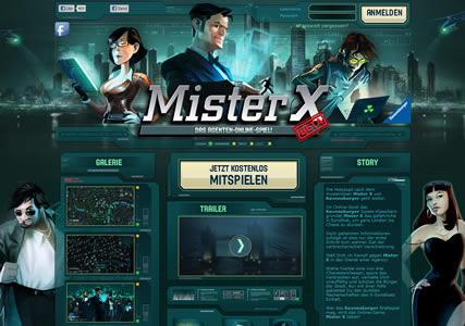Mister X Online Screenshot 0