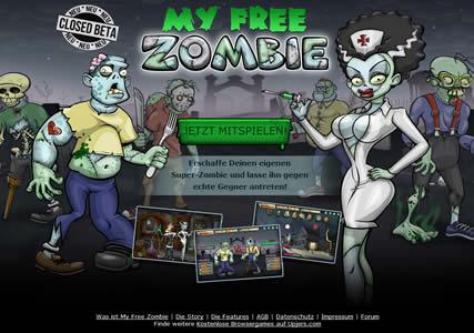Zombie Aufbauspiele