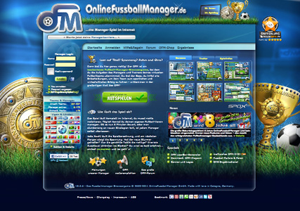 Online Fussballmanager Screenshot 0