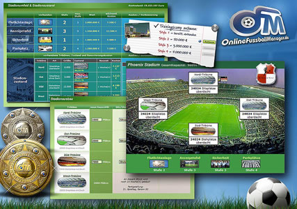 Online Fussballmanager Screenshot 3
