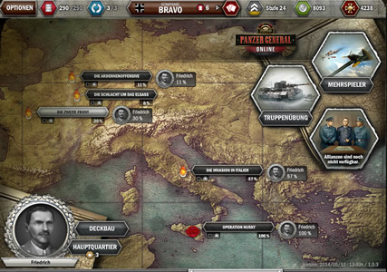Panzer General Online Screenshot 2
